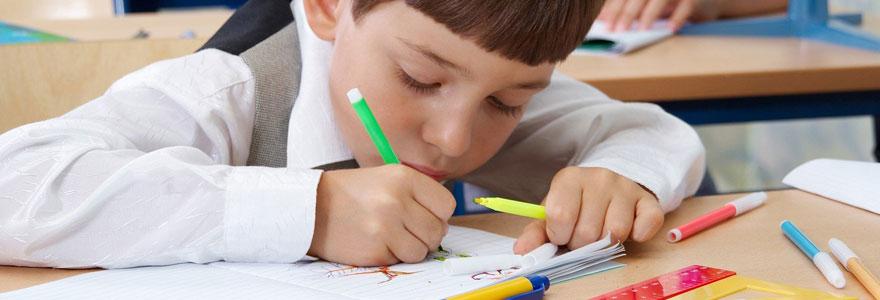 les loisirs créatifs aux enfants