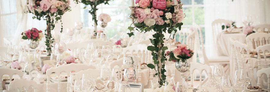 La décoration de mariage