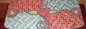 loisir créatif avec les mosaïques